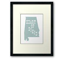 Alabama Slogan Motto Framed Print