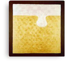 PUZZLE PIECE 4 Canvas Print