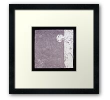 PUZZLE PIECE 6 Framed Print