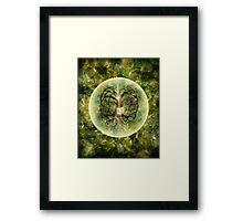 The Cosmic Tigger Framed Print