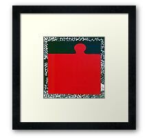 PUZZLE PIECE 7 Framed Print
