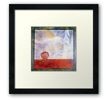 PUZZLE PIECE 8 Framed Print
