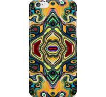 Colorful Symmetric Abstract iPhone Case/Skin