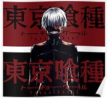 Tokyo Ghoul: Kaneki [Manga Styled] Poster