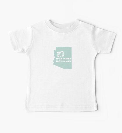 Arizona State Slogan Baby Tee