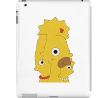 The Simpsons character mash iPad Case/Skin