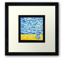 PUZZLE PIECE 101 Framed Print
