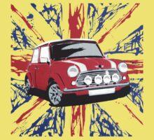 British Mini 01 (Paint) Kids Clothes