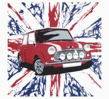 British Mini 01 (Paint) by Richard Yeomans