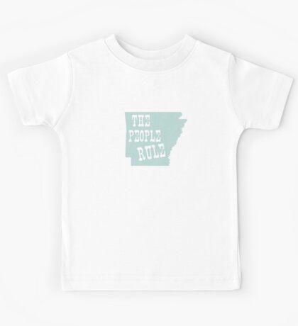Arkansas State Motto Slogan Kids Tee