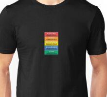 The Homeland Security Advisory System scale Unisex T-Shirt