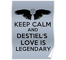 Destiel is Legendary Poster