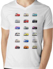 Mini Splitties Mens V-Neck T-Shirt