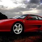 Ferrari 355 Challenge Posing by Ash Simmonds