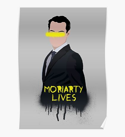 Moriarty Lives Poster