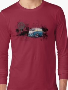 Splitty Grunge (B) Long Sleeve T-Shirt