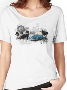 Splitty Grunge (B) Women's Relaxed Fit T-Shirt
