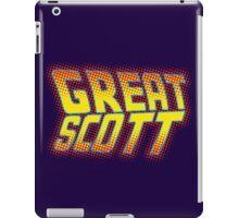 Great Scott iPad Case/Skin