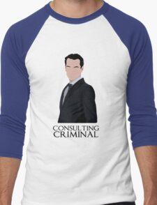 Consulting Criminal Men's Baseball ¾ T-Shirt