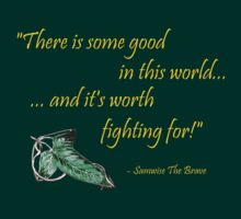 Samwise The Brave Quote by strkr241