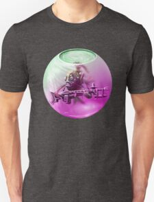 Siamese Fighting Fish in T Space T-Shirt