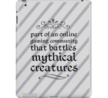 Mythical Creatures iPad Case/Skin