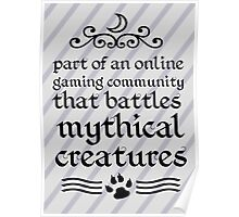 Mythical Creatures Poster