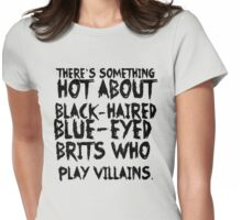 British Villains Womens Fitted T-Shirt