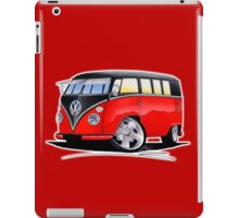 VW Splitty (11 Window) Camper (E) iPad Case/Skin