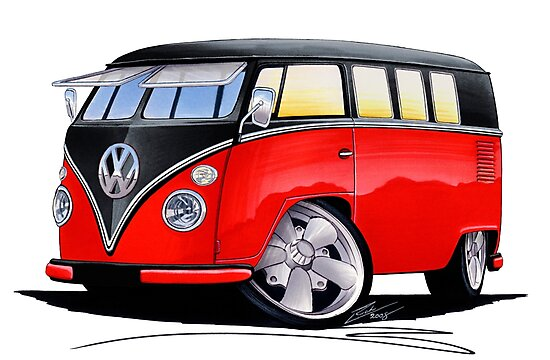 VW Splitty (11 Window) Camper (E) by Richard Yeomans