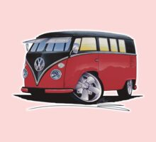 VW Splitty (11 Window) Camper (E) One Piece - Short Sleeve