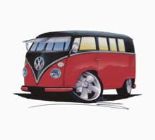 VW Splitty (11 Window) Camper (E) One Piece - Short Sleeve