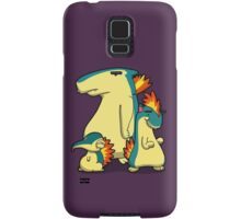 Number 155, 156 and 157 Samsung Galaxy Case/Skin
