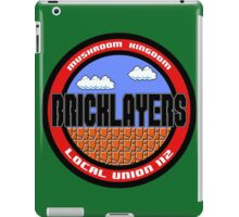 Mushroom Kingdom Bricklayers iPad Case/Skin