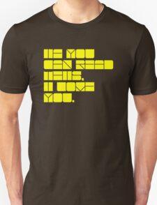 Colourful love. Unisex T-Shirt