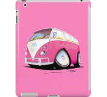 VW Splitty Camper Van Pink iPad Case/Skin