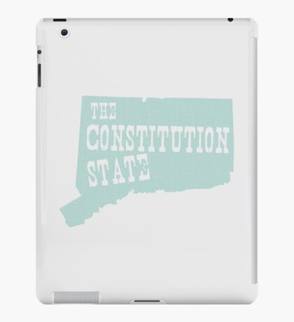 Connecticut State Motto Slogan iPad Case/Skin