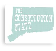 Connecticut State Motto Slogan Canvas Print