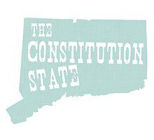 Connecticut State Motto Slogan Photographic Print