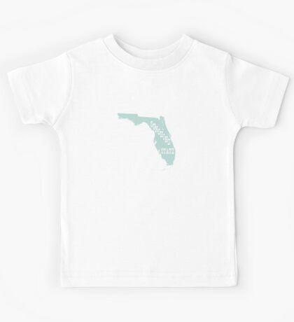 Florida State Motto Slogan Kids Tee