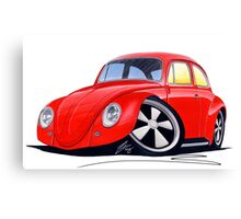 VW Beetle (Custom A) Canvas Print