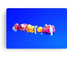 The great Jelly Baby Massacre! Canvas Print