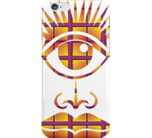 Eye, nose and mouth iPhone Case/Skin