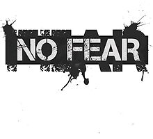 No Fear by Sid3walk Art