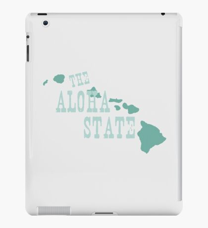 Hawaii State Motto Slogan iPad Case/Skin