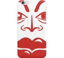 Red Jester iPhone Case/Skin