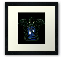 Dr.Who Beyond Time Framed Print