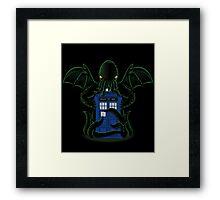 Dr.Who Beyond Time Framed Print