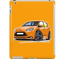 Ford Focus ST (Mk3) Orange iPad Case/Skin