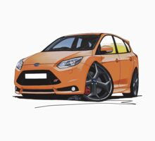 Ford Focus ST (Mk3) Orange Kids Clothes